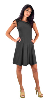 B0909-Skter-Dress-Ctn-Grey-L-AJ