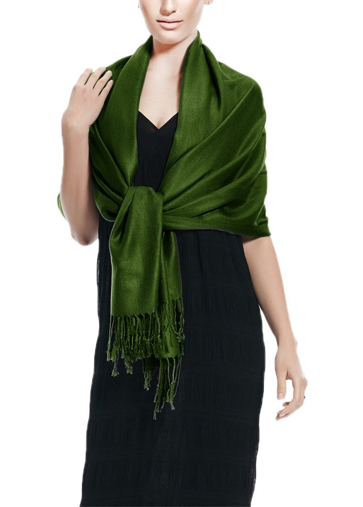 Forest Green Pashmina Shawl