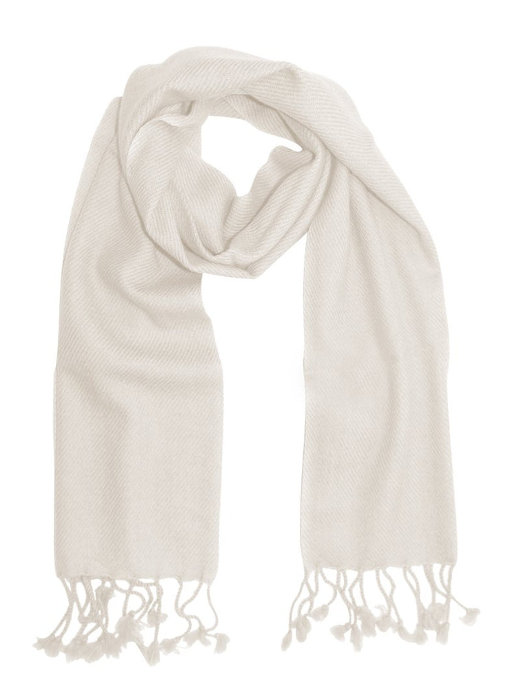 Pure-Cashmere-Scarf-Solid-Whit