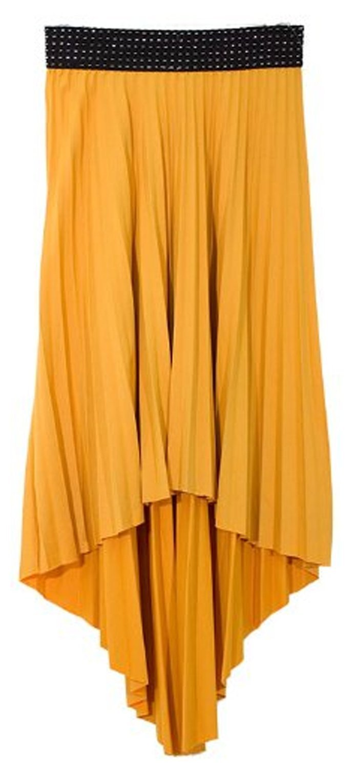 A8527-HiLow-Dash-Skirt-Yellow-