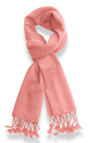 "Unisex Lovely Pure Cashmere Wool Scarf Soft and Warm Neck Scarves - 12"" x 60"""