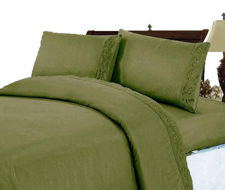 A2282-600-Sheet-Set-Hunt-Green-Quee-KL