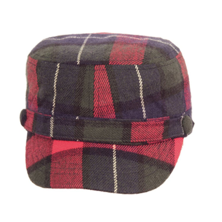 CD024-2-Cadet-Hat-Nvy-Red-FBA
