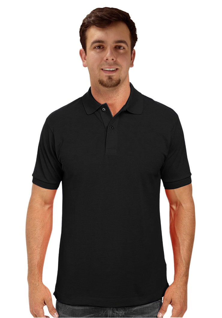 B2997-Mens-Polo-Black-L-AJ