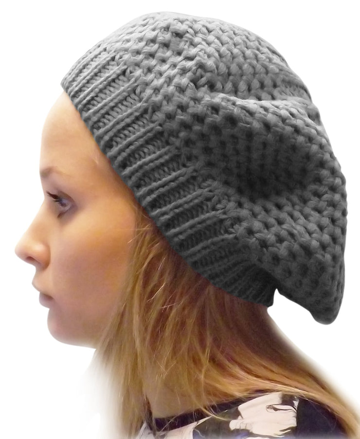 A3400-Stylish-Knit-Beret-Grey-JG