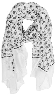 A3194-Owl-Scarf-Whit