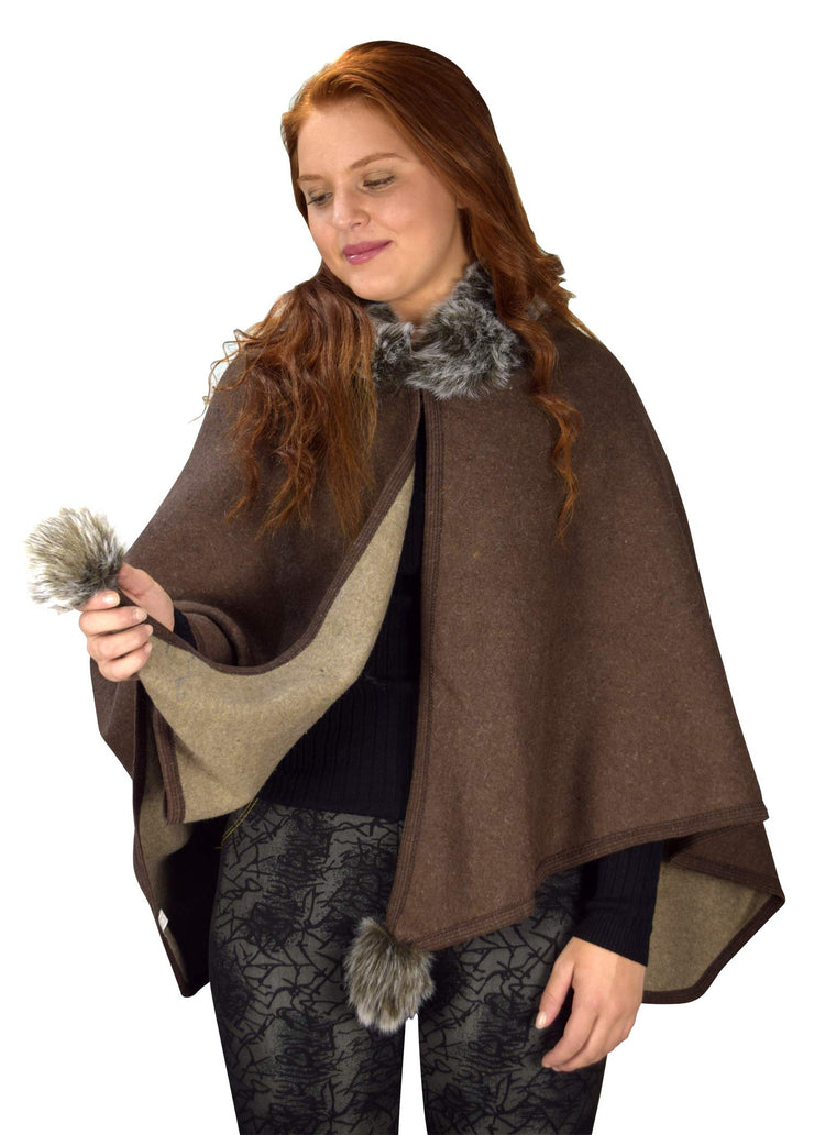 B9016-PomPom-Trim-Brown-OS