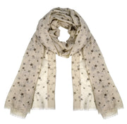 Womens Summer Fashion Light Weight Starry Scarf Shawls