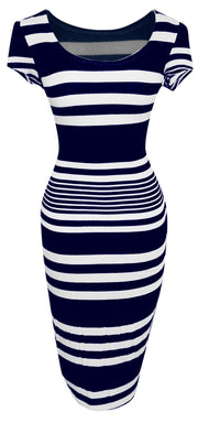 A1585-Striped-BodyconDress-Navy-Sm-JG