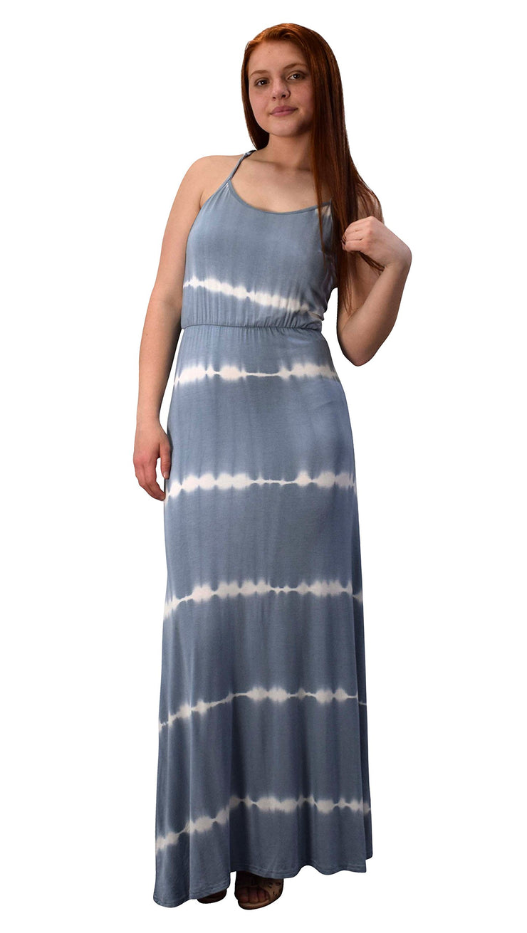 B2803-6410-MaxiDress-Grey-Xl-A