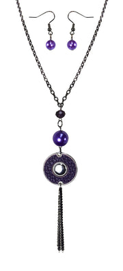 B0518-Long-Chain-Circle-Necklace-Prpl-OS
