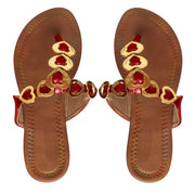 A8632-Heart-Sandal-Thong-Red-5-AS