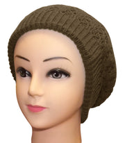 Peach Couture Womens Knit Thick Warm Slouch Beanie Ski Hat Cap