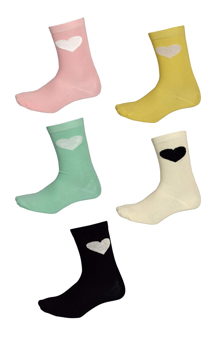 B8924-CrewSocks-Pack5-Heart-OS