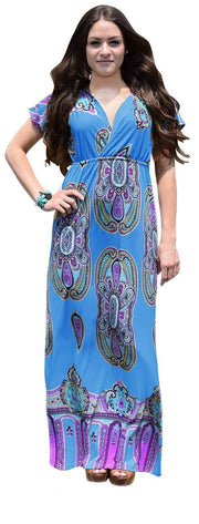 B0144-Paisley-Dress-Blue-M-AJ
