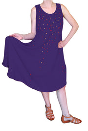 A4482-Sequin-Dress-OneSize-Purple-KL