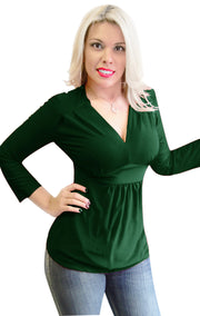 5509-Empire-Waist-Top-Green-Small-SPI