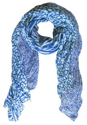 A1154-Animal-Crink-Scarf-Blue-