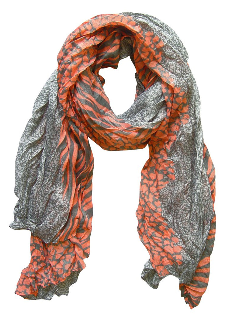A1150-Animal-Crink-Scarf-Salmon-FBA-SM