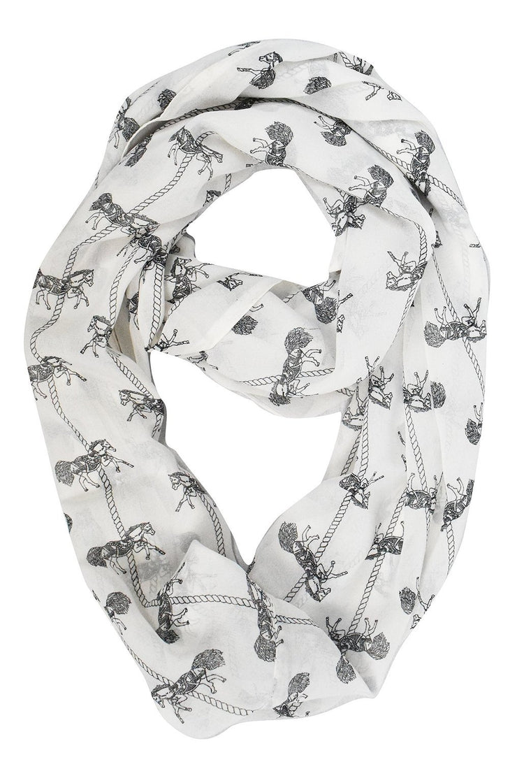 Womens Fashion Bohemian Sheer Infinity scarves Circle Scarf Loops