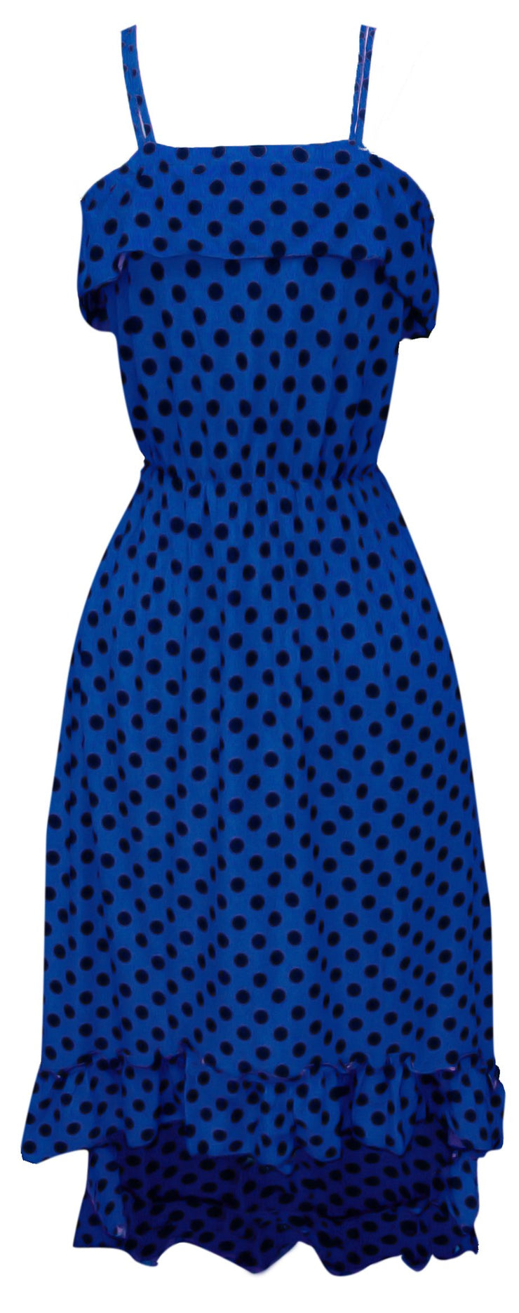 A1285-PolkaDot-Maxi-Dress-Blue-BLK-M-SM