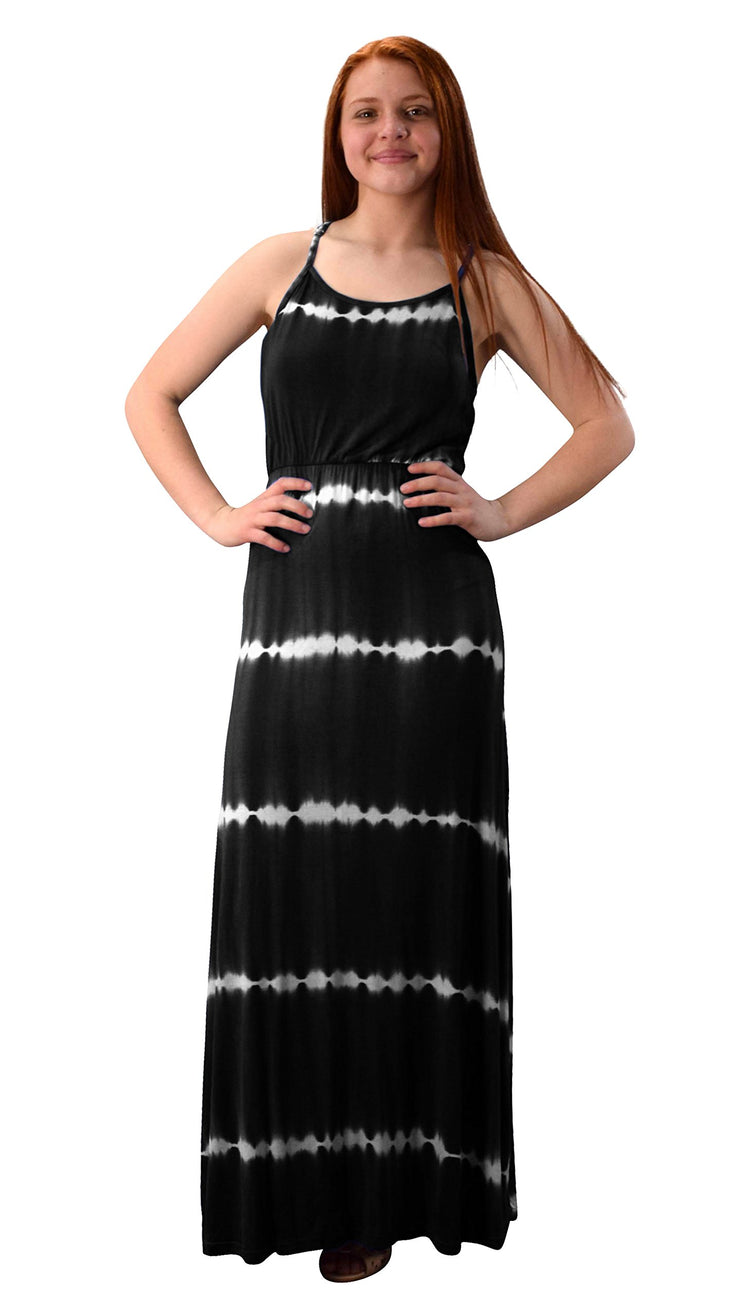 B2796-6410-MaxiDress-Black-S-A