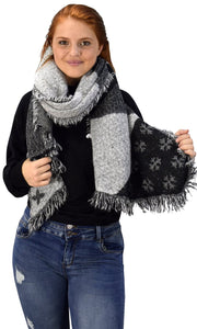 B5507-ZR119-Scarf-Black/Grey-A