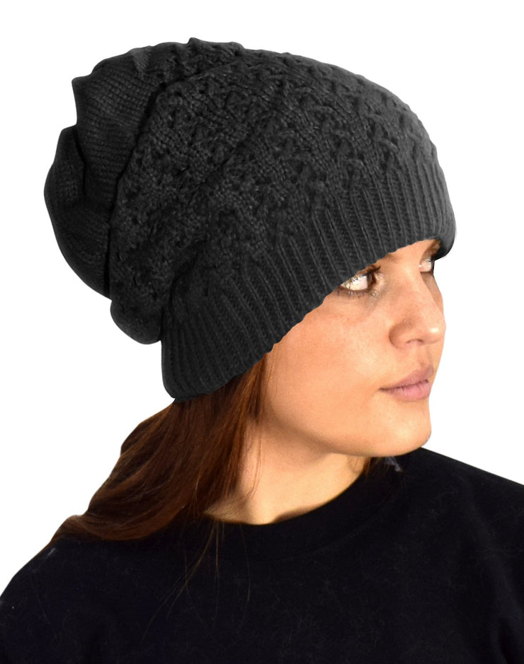 A6418-Knit-Hat-Neck-Snood-Black-MRC