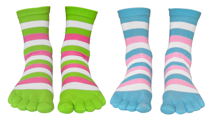 A2554-Stripe-Toe-Sock-Pin-Gree-KL