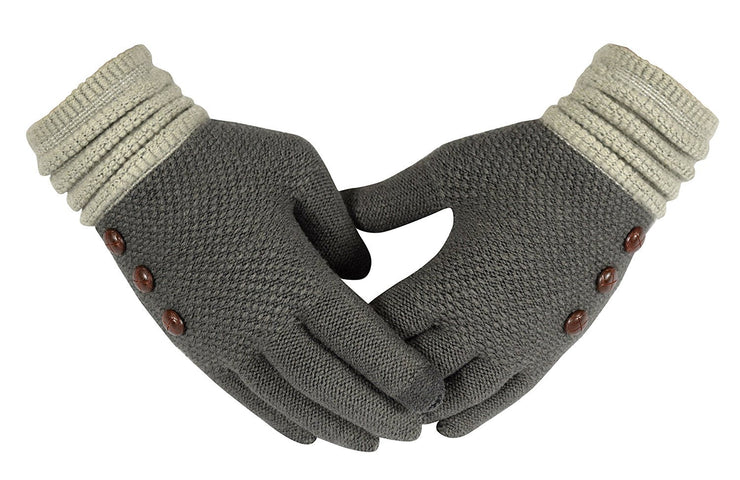 B1383-Button-Gloves-Grey-MRS