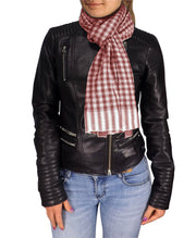 B5827-Checkered-Plaid-Scarf-Maroon-SD