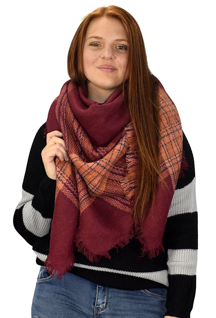 B0971-Oversized-Shawl-Maroon-MRS