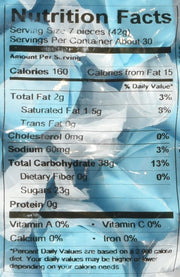 Long Island Salt Water Blue Raspberry Taffy 3lb by Sweets