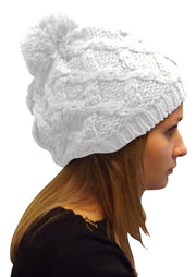 A3239-Cable-Knit-Pom-Hat-White-KL
