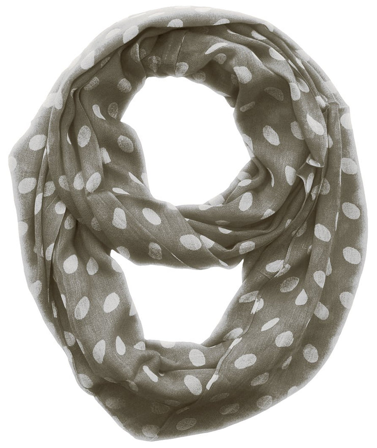 A2378-Polka-Loop-Scarf-Grey-KL