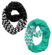 A2843-Anchor-Chevron-Teal-Black-K