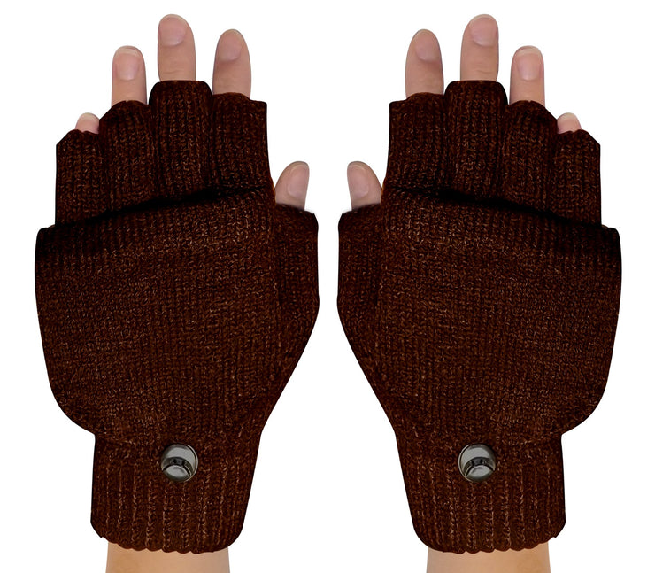 Fingerless-Flap-GL033-Brown-FBA-EHC