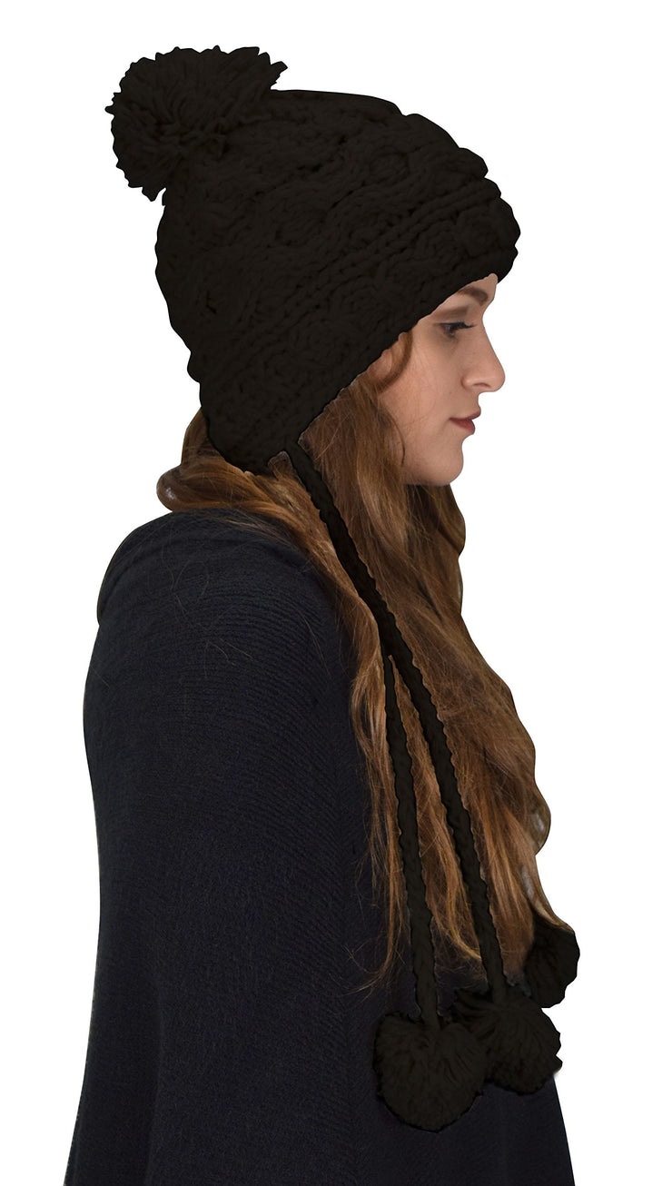A7988-Knit-Trapper-Hat-Black-R