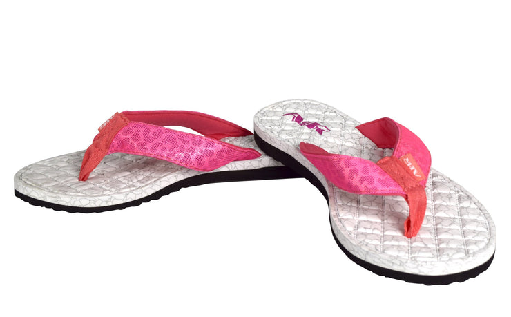 Peach Couture Women's Casual Strappy Summer Slipper Shower Sandal Beach Flip Flops