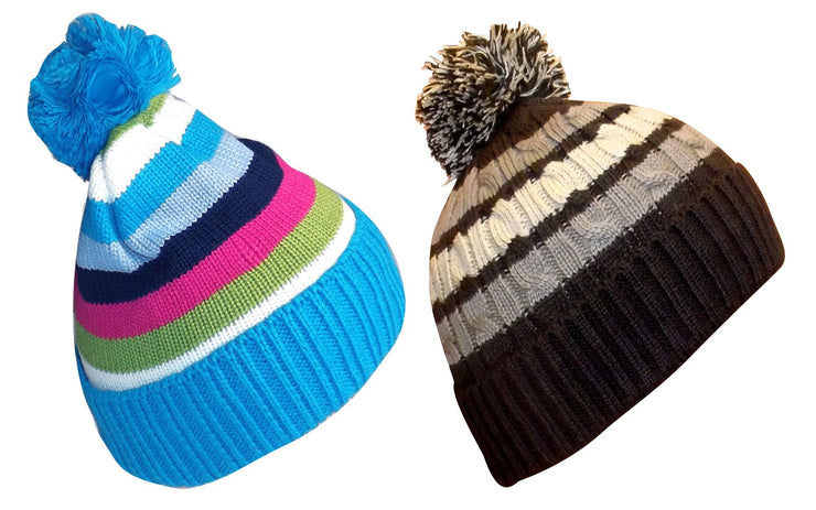 A6836-Stripe-Cable-Kids-Hat-BluBrn-JG