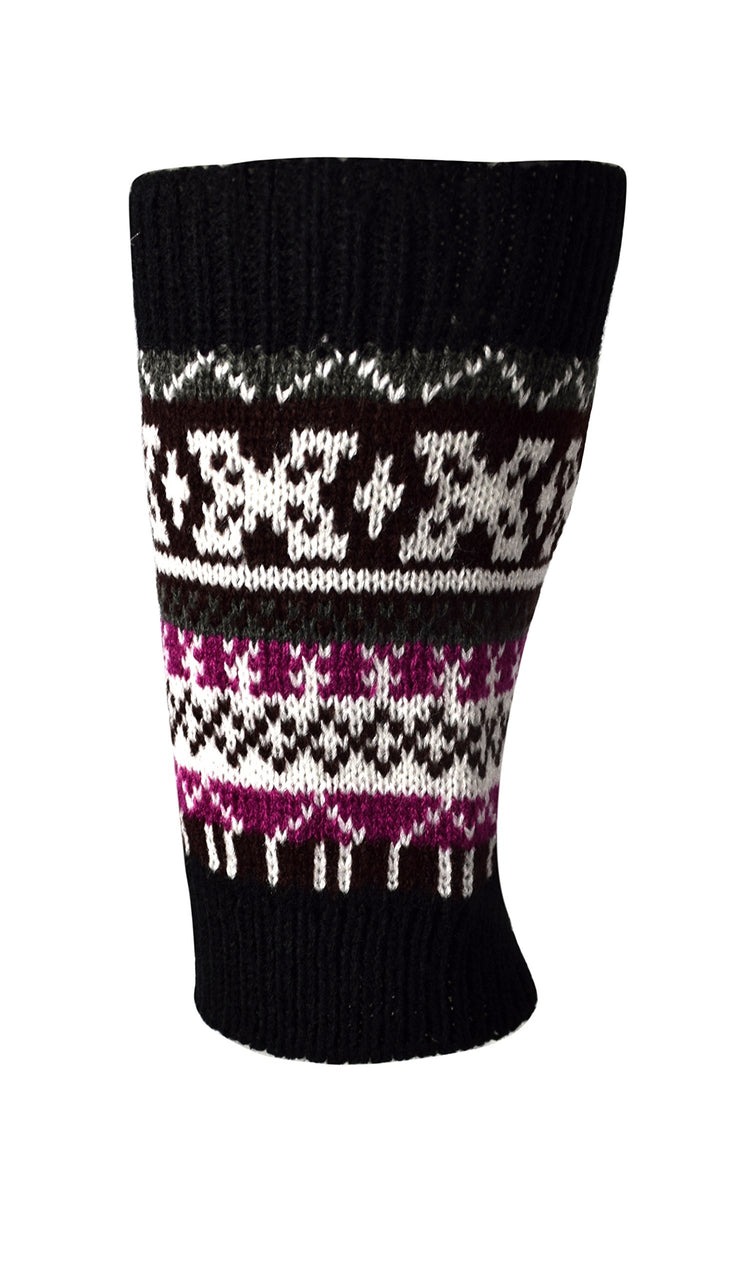 Stylish Warm Cozy Soft Stretchy Adjustable Winter Knitted Leg Warmers