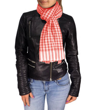 B1977-Checkered-Plaid-Scarf-Red-AC