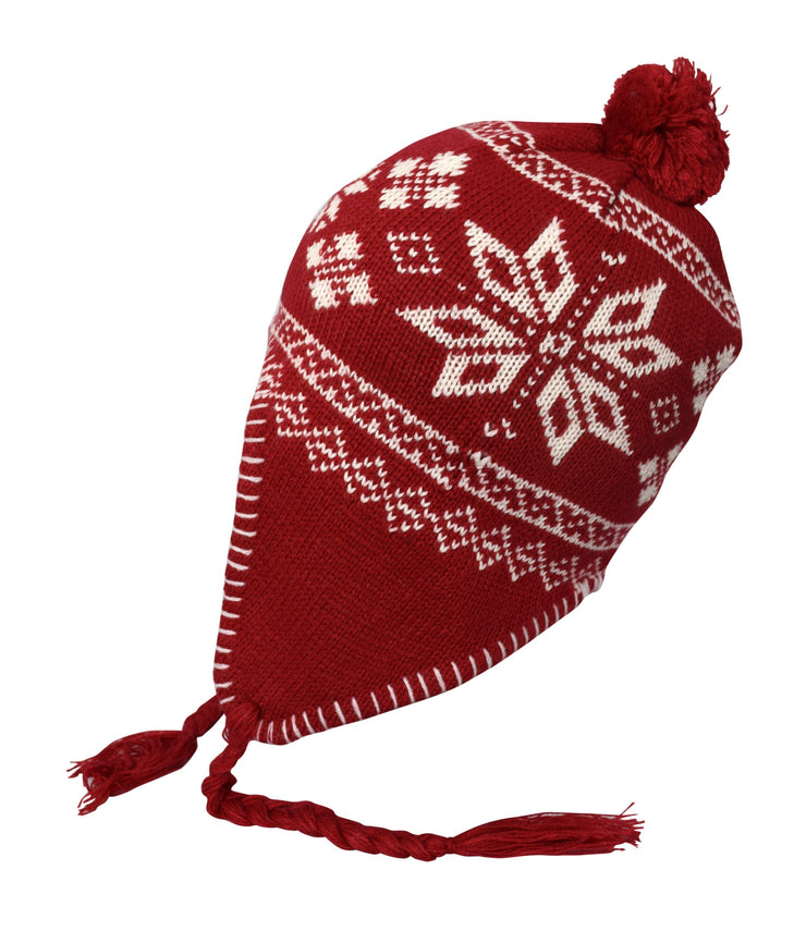 A3419-Kids-Tribal-Trapper-Hat-Red-JG