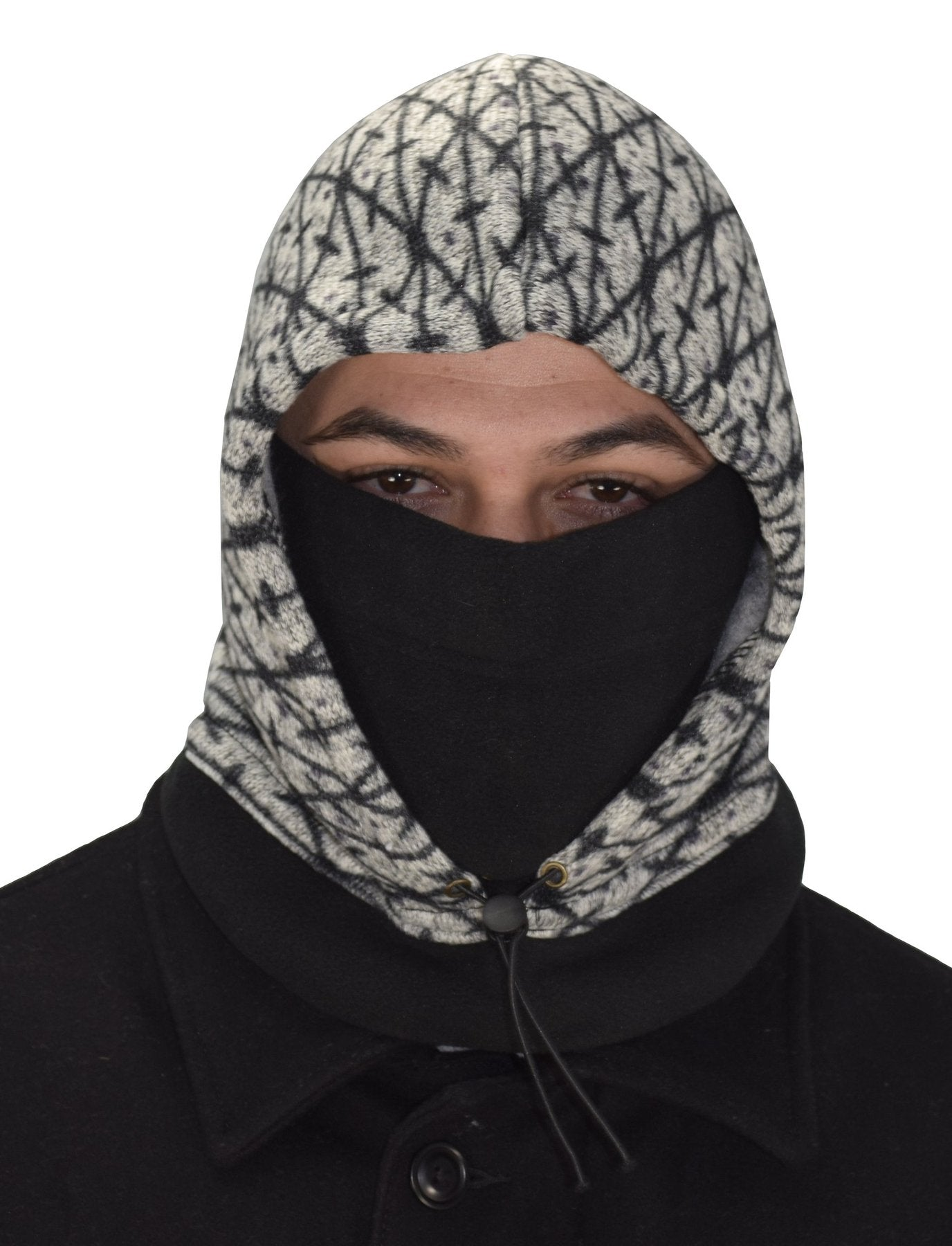 Insulated Snowboarding Balaclava Plush Lined Ski Mask