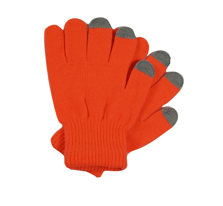 A6519-Neon-Touch-Glove-Women-Orange-KL