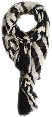 A1514-Electric-Zebra-Scarf-Black-SM