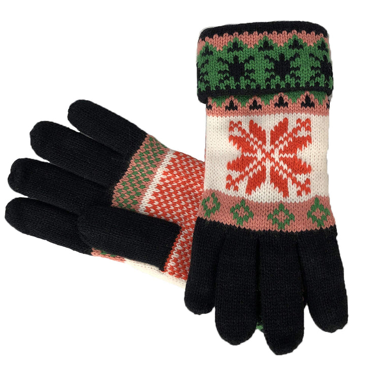 C5902-Glove-Snowflake-610-Black-AS