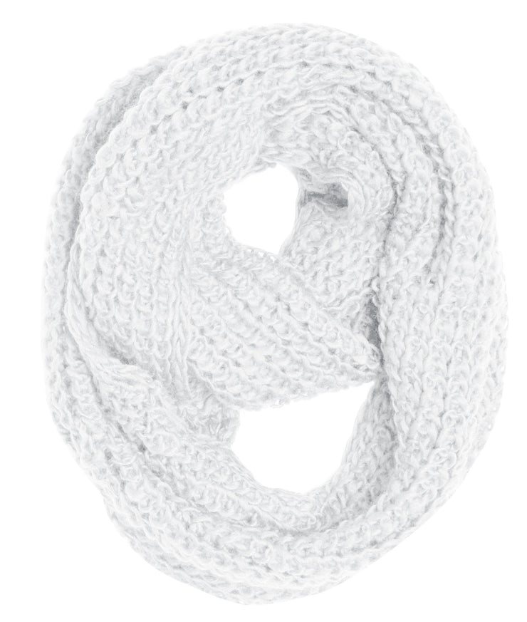 Handmade Thick Ribbed Chunky Knit Infinity loop Scarves