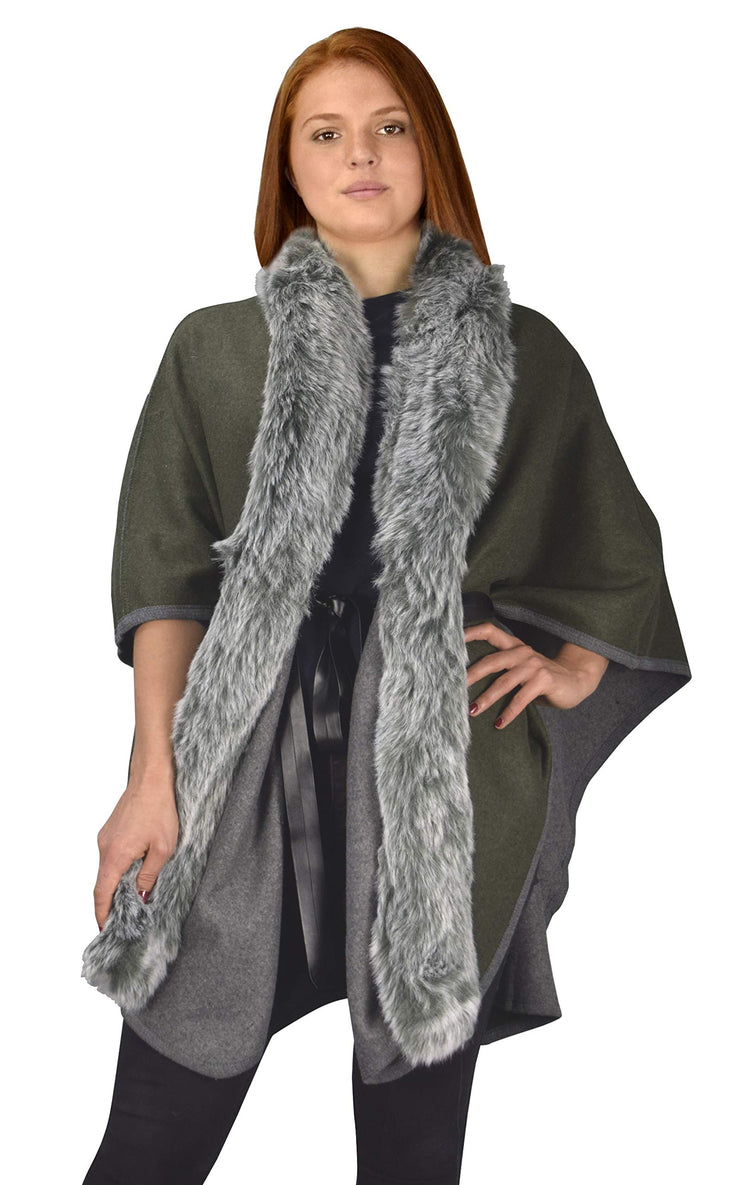 B9008-Belted-Poncho-GrnGry-OS