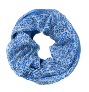 Summer Fashion Cute Dainty Floral Print Infinity Loop Scarf